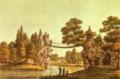 Johann Friedrich Nagel - Kettenbrücke zu Wörlitz.png