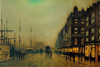 John Atkinson Grimshaw - Liverpool Quay by Moonlight (1887).jpg