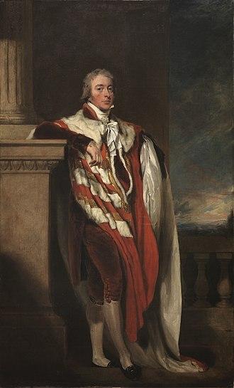 John Fane, 10th Earl of Westmorland - John Fane by Thomas Lawrence c. 1806