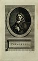John Flamsteed. Line engraving by J. Baker after T. Gibson, Wellcome V0001937.jpg