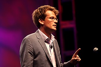 John Green (author) - Green at VidCon 2012