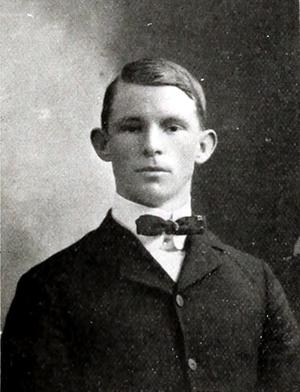 John McMakin (baseball) - Image: John Mc Makin (Clemson College Annual 1907)