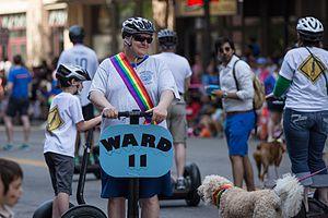 John Quincy (Minnesota politician) - Image: John Quincy, Minneapolis City Council Member Twin Cities Pride Parade (9180871724)