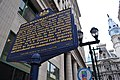 John Wanamaker Historical Marker Market and S 13th Sts Philadelphia PA (DSC 3252).jpg