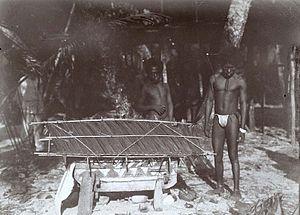 Biak - People of Biak in 1907. Tropenmuseum.