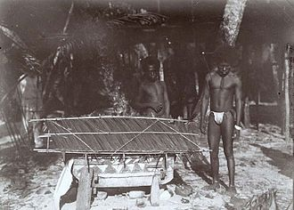 Biak - People of Biak in 1907. Tropenmuseum.