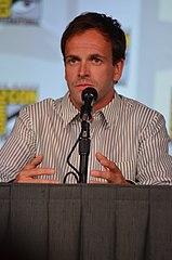 Aktor podczas comic-con 2012