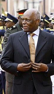 José Eduardo dos Santos President of Angola