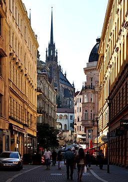Josefská street in Brno I