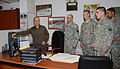Joseph Gallegos, a regional training support division south admin assistant, presents training to U.S. Soldiers with the 509th Signal Battalion, during training at Caserma Ederle in Vicenza, Italy, April 10 130410-A-DO858-001.jpg
