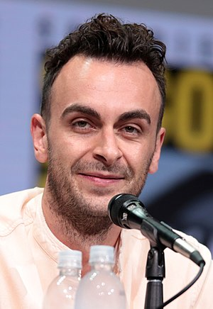 Joe Gilgun - Gilgun at the 2017 San Diego Comic-Con International promoting Preacher.