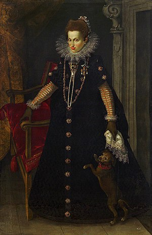 Maria Anna of Bavaria (1574–1616) - Portrait by Joseph Heintz the Elder, 1604