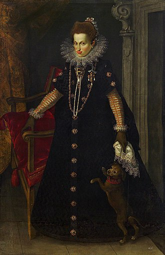 Maria Anna of Bavaria (1574–1616) - Portrait by Joseph Heintz the Elder, 1604