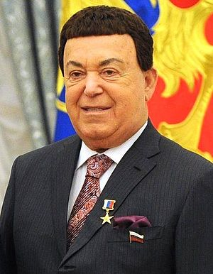 Hero of Labour of the Russian Federation - Image: Joseph Kobzon 30.04.2016