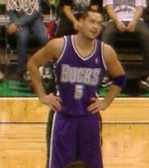 Josh Davis (basketball, born 1980) - Davis in 2005 with the Milwaukee Bucks.