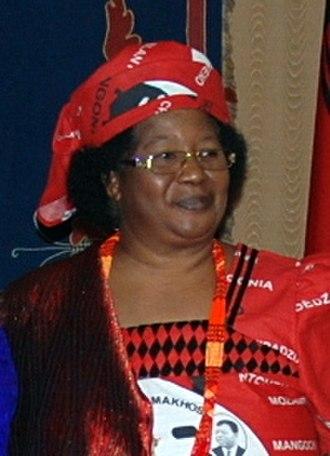 President of Malawi - Image: Joyce Banda August 2012