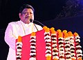 """Jual Oram addressing at the closing ceremony of the """"Aadi Mahotsav"""" a Mega fortnight long National Tribal festival with the theme A celebration of the spirit of Tribal culture, cuisine & commerce, in New Delhi.jpg"""