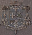 Juan Antonio Reig Pla (RPS 06-07-2012) escudo de obispo en acero corten.png