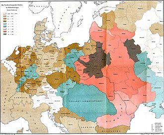 Ashkenazi Jews - The Jews in Central Europe (1881)