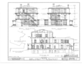 Judge Charles Mason House, 931 North Sixth Street, Burlington, Des Moines County, IA HABS IOWA,29-BURL,1- (sheet 4 of 7).png