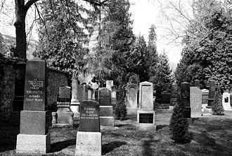 Kirn - Jewish graveyard (monumental zone)