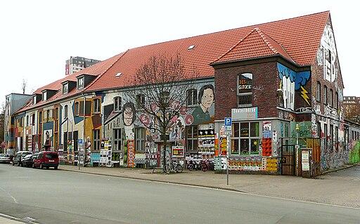 Jugendzentrum Glocksee seitlich