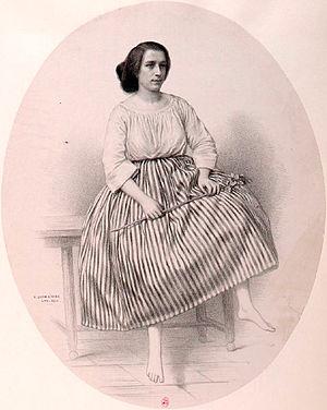 Les dragons de Villars - Juliette Borghèse as Rose Friquet (1856)