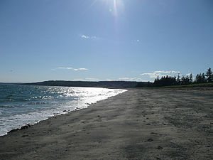 Anchorage Provincial Park - Beach at Anchorage Provincial Park