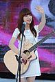 Juniel (South Korean singer) at Super M Concert, on July 28, 2012.jpg