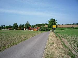 Käbschütztal - Image: Käbschütztal OT Schletta westliche Zufahrtsstraße