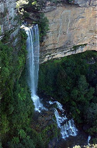 Katoomba, New South Wales - Katoomba Falls on the Kedumba River.