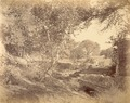 KITLV 100104 - Unknown - End of the dam (bund) at Katriz near Poona in India - Around 1875.tif