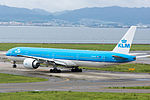 KLM Royal Dutch Airlines, B777-300, PH-BVK (20868751400).jpg