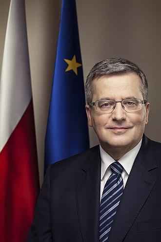 Bronisław Komorowski - Image: KPRP 20130131 WG 230 BRONISLAW KOMOROWSKI