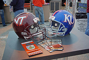 2008 Orange Bowl - Bowl Championship Series commissioners and the Orange Bowl Committee selected Kansas and Virginia Tech to play in the 2008 Orange Bowl.