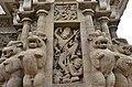 Kailasanatha Temple, dedicated to Shiva, Pallavve period, early 7th century, Kanchipuram (52) (37457285101).jpg