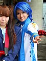Kaito - with K-On! Azusa - EOY 2012 Cosplay Festival (8258412288) clip.jpg