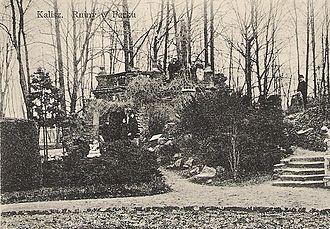 Destruction of Kalisz - The Great Park in Kalisz, before 1914