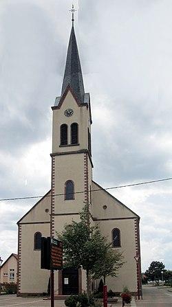 Kaltenhouse, Église Saint-Wendelin 1.jpg