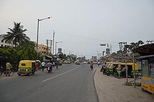 Kalyani Expressway - Image: Kalyani Expressway Wireless Crossing Area Barrackpore North 24 Parganas 2015 05 24 1221