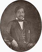 Kamehameha III, daguerreotype, c. 1853 (cropped).jpg