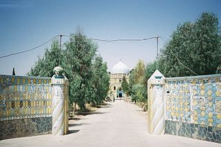 Kandahar City in Afghanistan