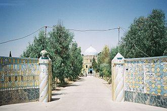Mirwais Hotak - The mausoleum of Mirwais Hotak in the Kokaran section of Kandahar, Afghanistan.