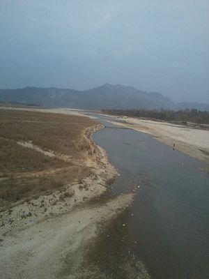 Kankai River - Image: Kankai nadi ko ek tasweer