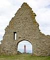 Kapelludden - lighthouse through archway.jpg
