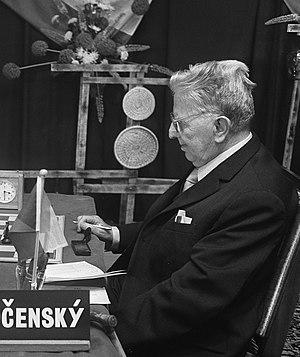 Karel Opočenský - Karel Opočenský in 1969
