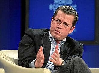 Karl-Theodor zu Guttenberg - Image: Karl Theodor Freiherr zu Guttenberg World Economic Forum Annual Meeting 2011