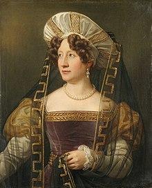 Karoline Jagemann, Gemälde von Joseph Karl Stieler. (Quelle: Wikimedia)
