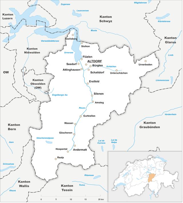 Canton of Uri Wikiwand