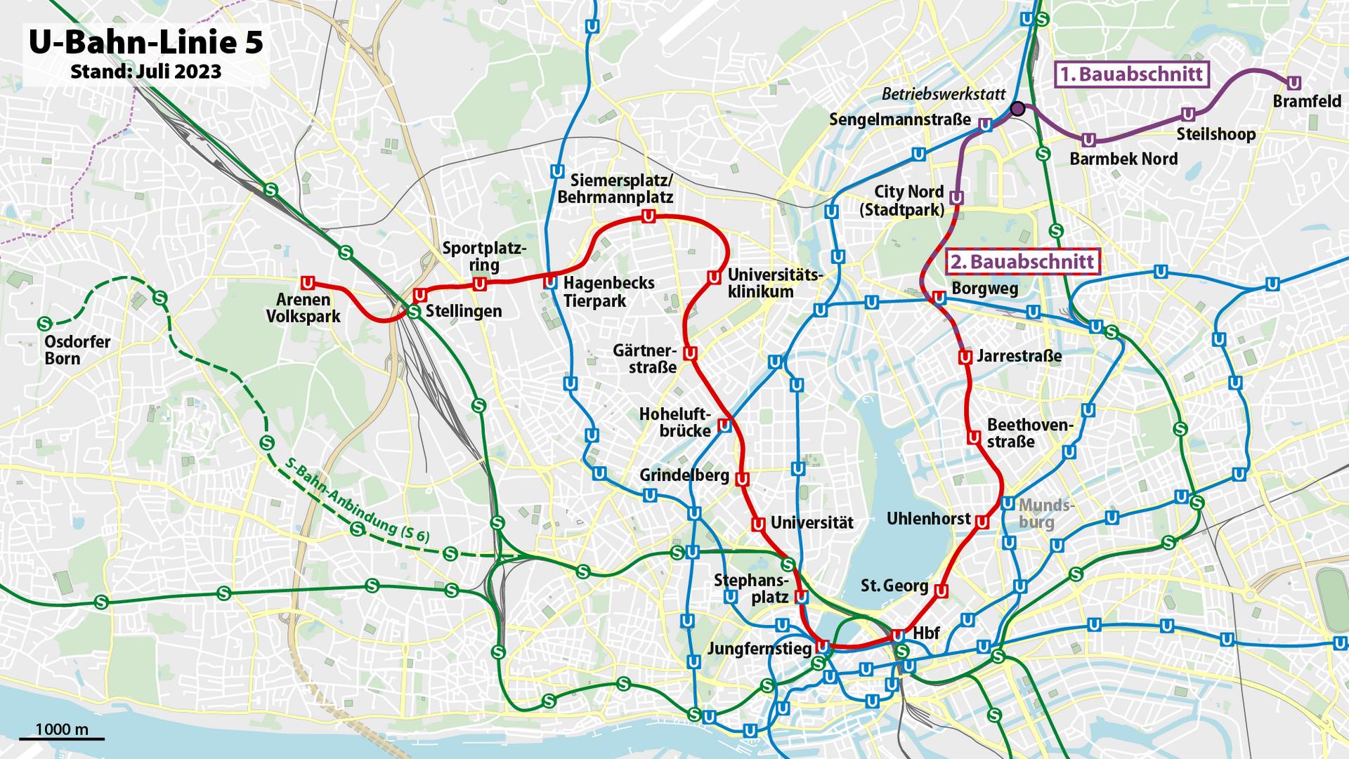 U-Bahn-Linie 5 (Hamburg) – Wikipedia
